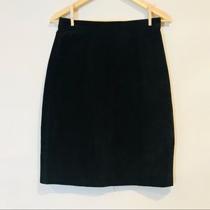 Express leather skirt Compagnie internationale